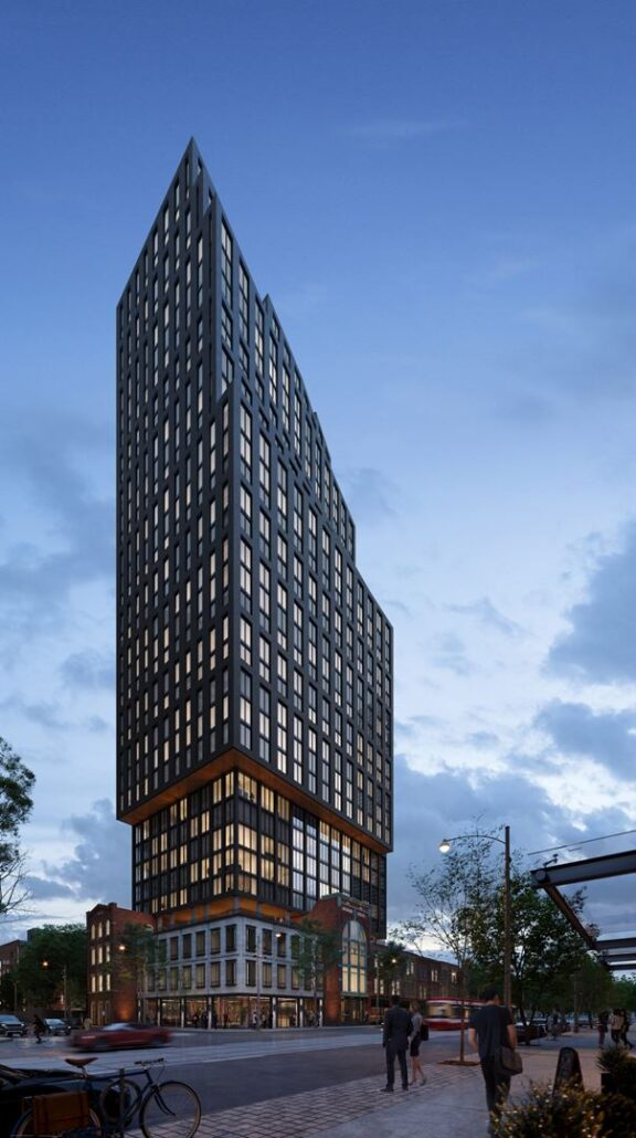 Toronto (Downtown) Builder(s): Parallax Development Corporation & Harlo Capital Name of Project: Queen Central